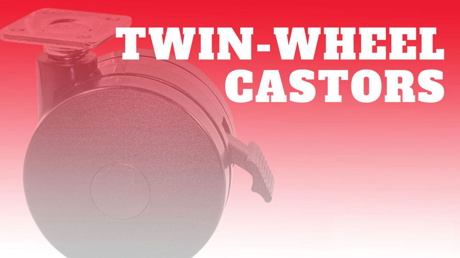 Castor-Twin-Wheels