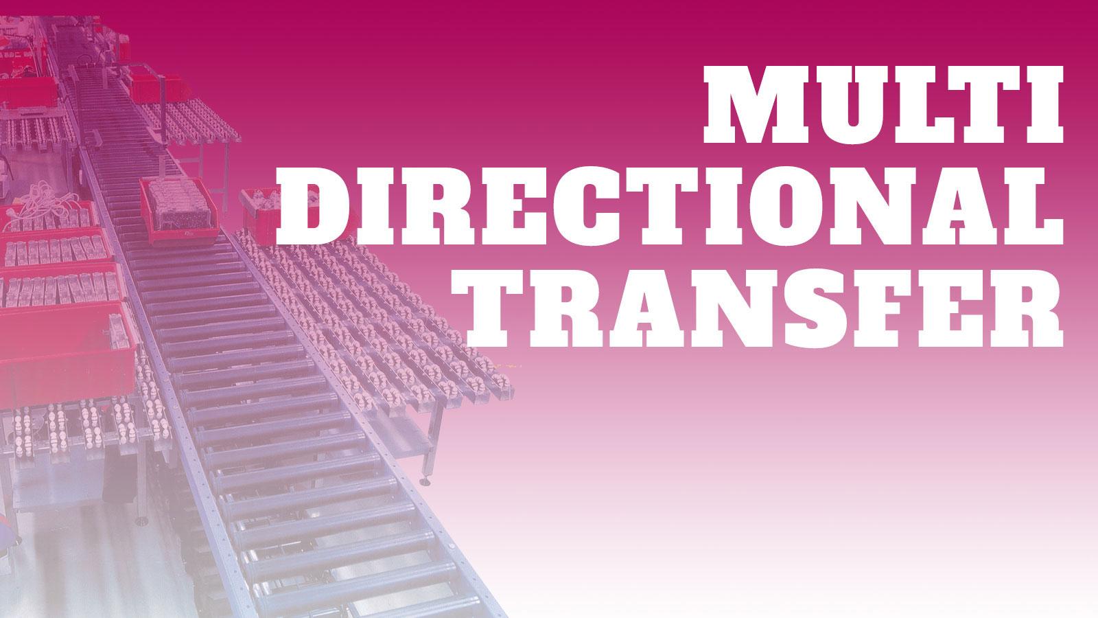 Conveyor-Multi-Directional